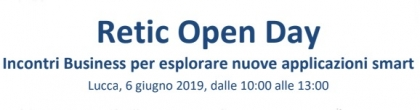 Retic Open Day 6/6/19 - Incontri di business tra startup e PM